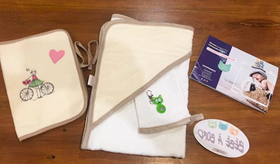 Les prêts à broder pour personnaliser les affaires de bébé