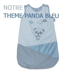 Collection Panda Bleu